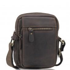 Чоловіча сумка через плече з вінтажної шкіри Tiding Bag t2102 - Royalbag