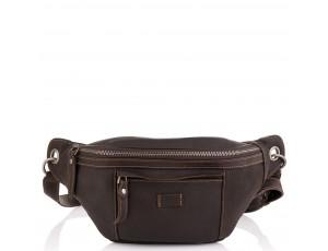 Мужская кожаная сумка на пояс  Tiding Bag t2103DB - Royalbag