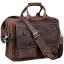 Вместительная мужская сумка-портфель винтажная кожа Tiding Bag t29523 - Royalbag