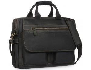 Сумка-портфель мужская кожаная для поездок Tiding Bag t29523A - Royalbag