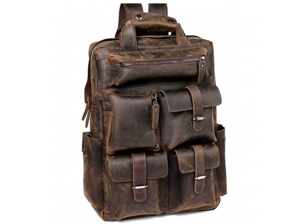 Рюкзак Tiding Bag t3081DB - Royalbag Фото 1