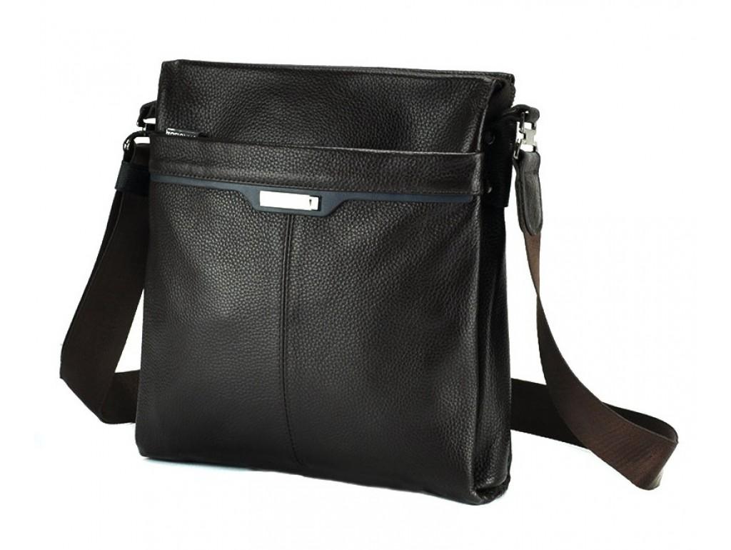 Мессенджер Tofionno 2914-3 BLACK - Royalbag Фото 1