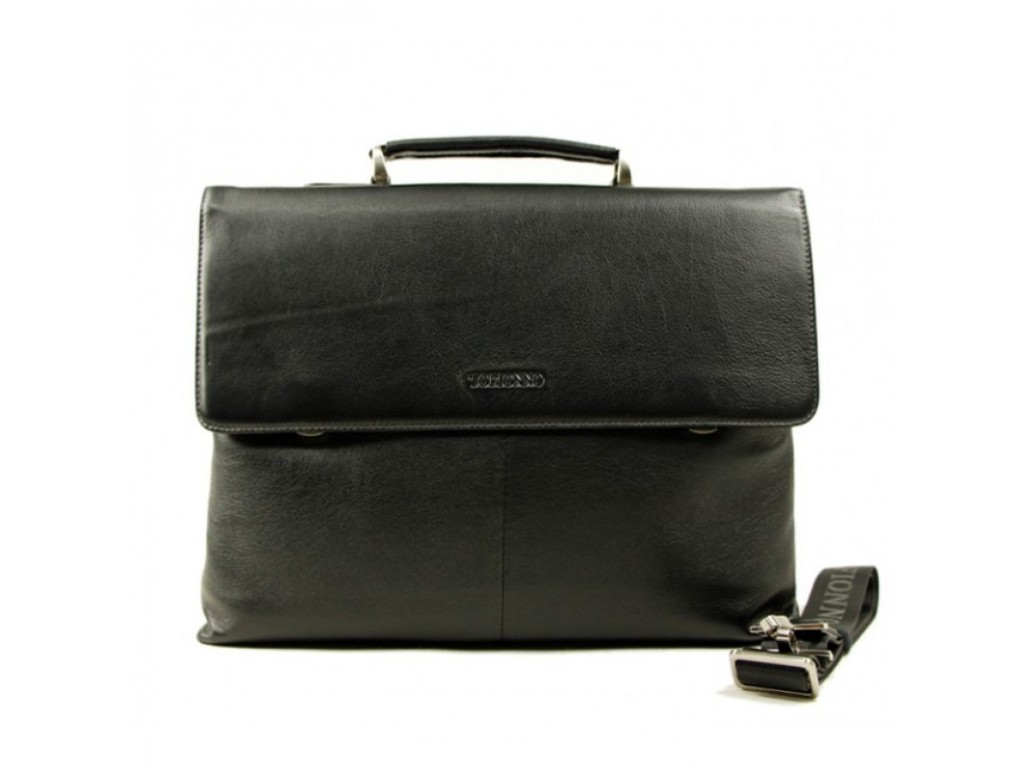 Сумка Tofionno P5123-1 BLACK - Royalbag Фото 1