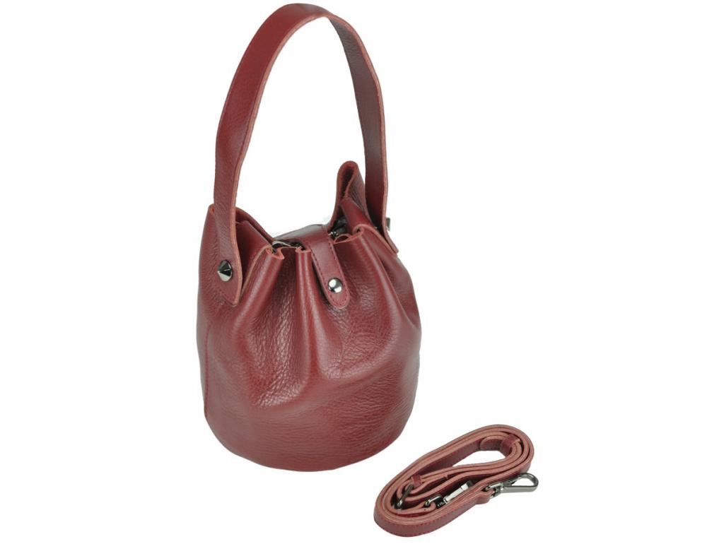 Сумка UnaBorsetta W06-9039BO - Royalbag Фото 1