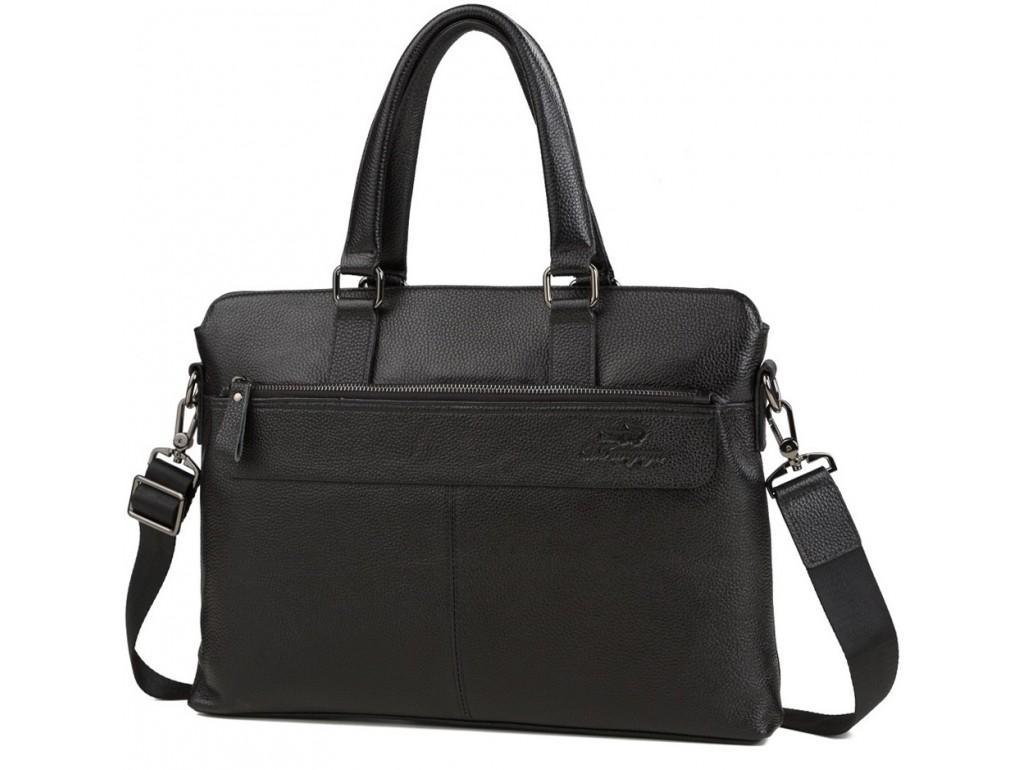 Сумка мужская кожаная классика Tiding Bag M38-6901-3A - Royalbag