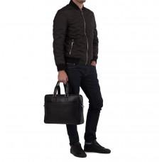 Сумка-портфель мужская кожаная для ноутбука и документов Tiding Bag M8018A - Royalbag