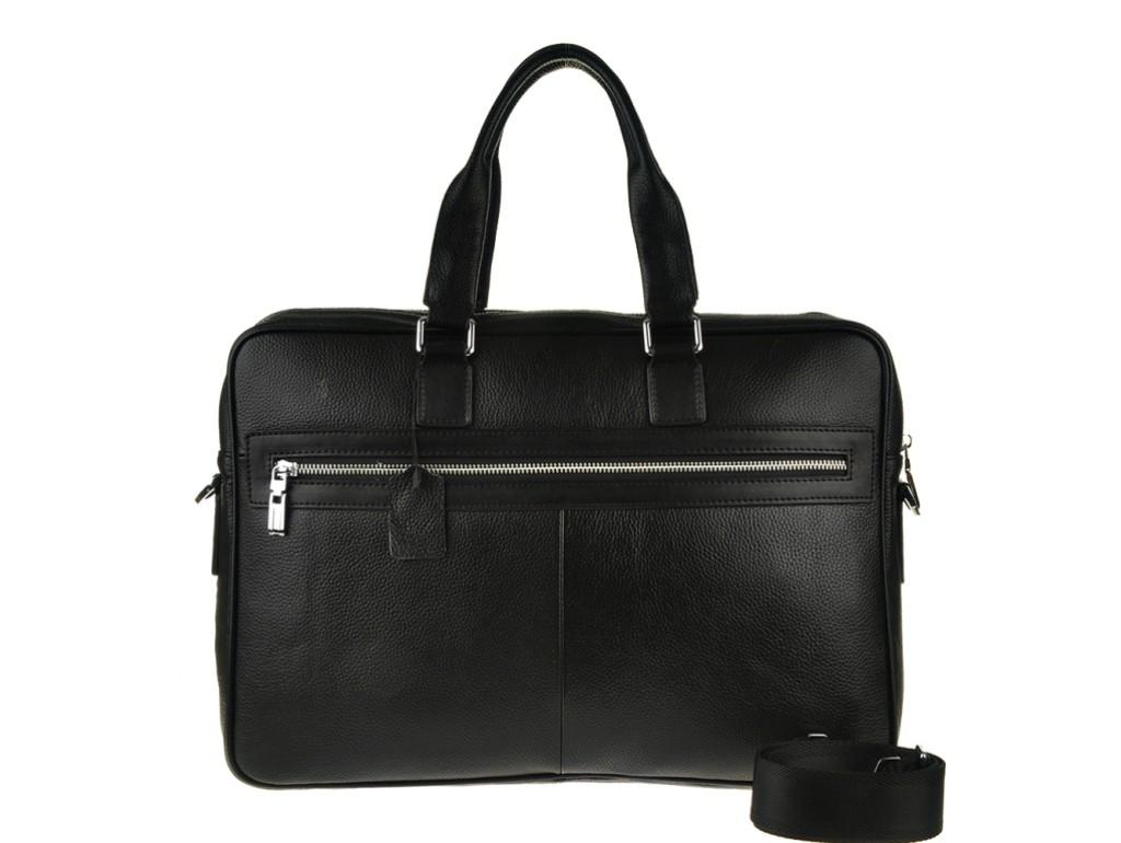 Деловая сумка-портфель мужская кожаная для ноутбука и документов Tiding Bag M2164A - Royalbag