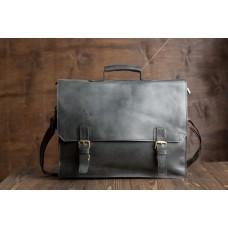 Мужской кожаный портфель TIDING BAG GA2095