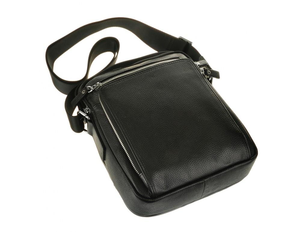 Барсетка мужская кожаная через плечо Tiding Bag M5608-1A - Royalbag