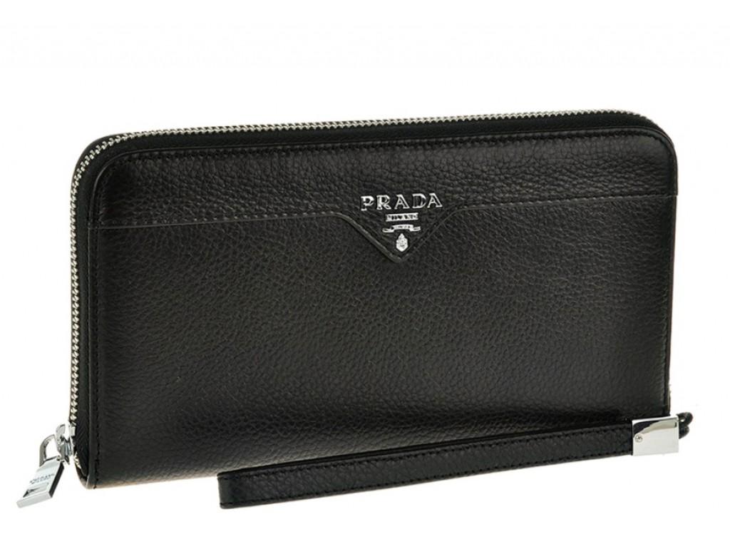 Кожаный клатч Pr1096 - Royalbag Фото 1