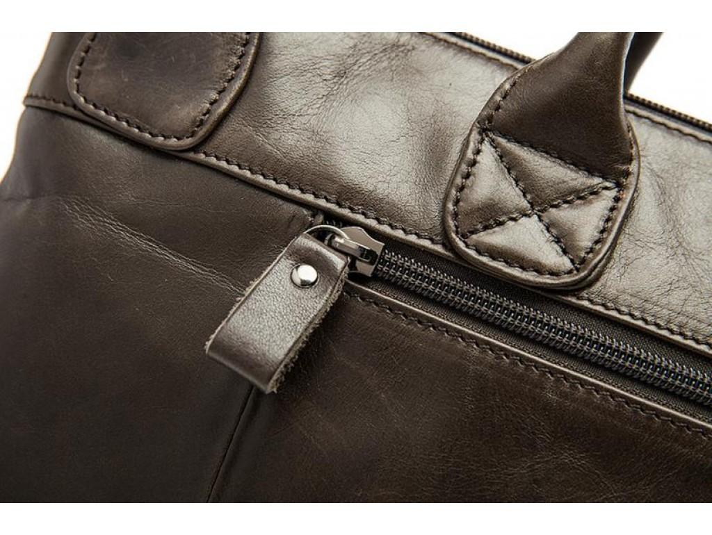 Мужская сумка А4 натуральная кожа Tiding Bag 7241C - Royalbag