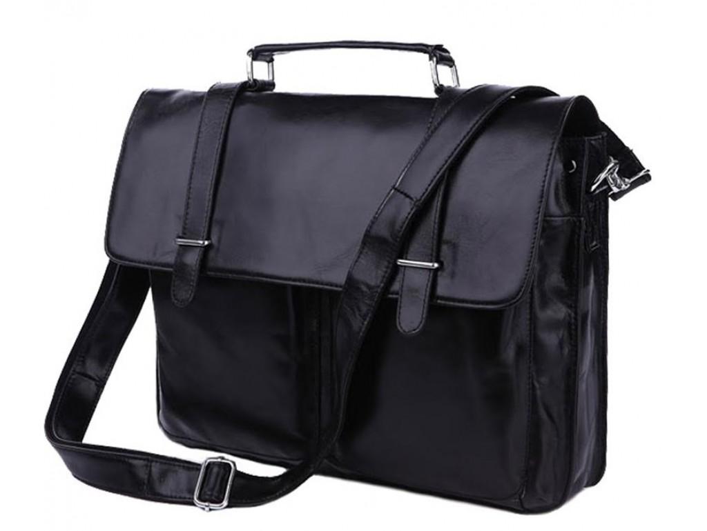Портфель мужской кожаный для документов Tiding Bag 7013A - Royalbag Фото 1