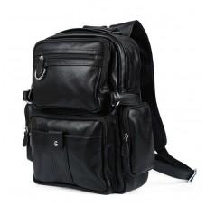 Рюкзак кожаный TIDING BAG T3001 - Royalbag Фото 2