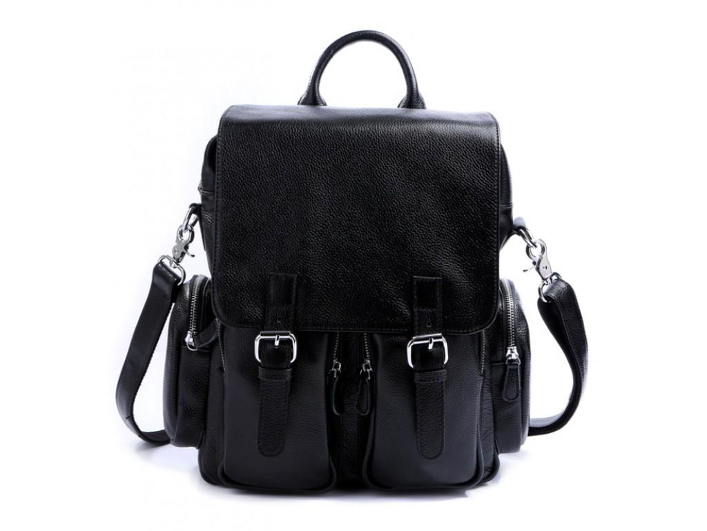 Рюкзак кожаный TIDING BAG T3101 - Royalbag Фото 1