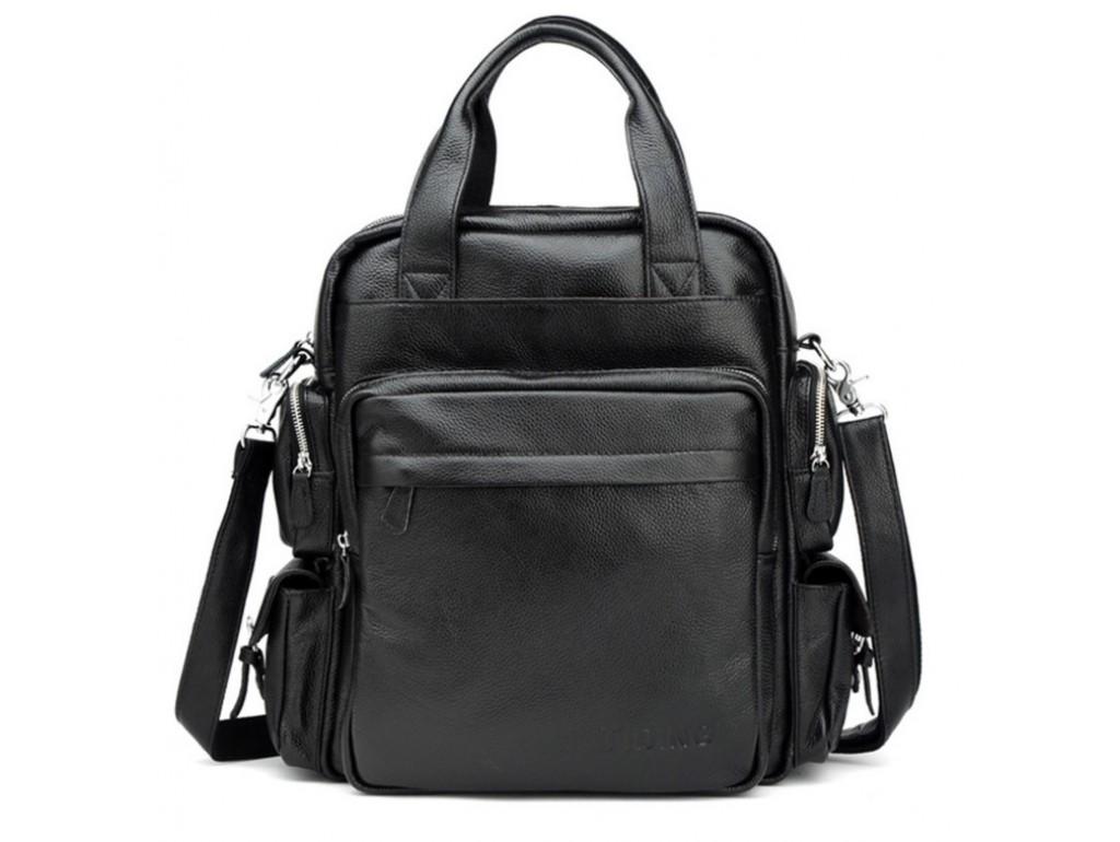 Рюкзак кожаный TIDING BAG T3069 - Royalbag Фото 1