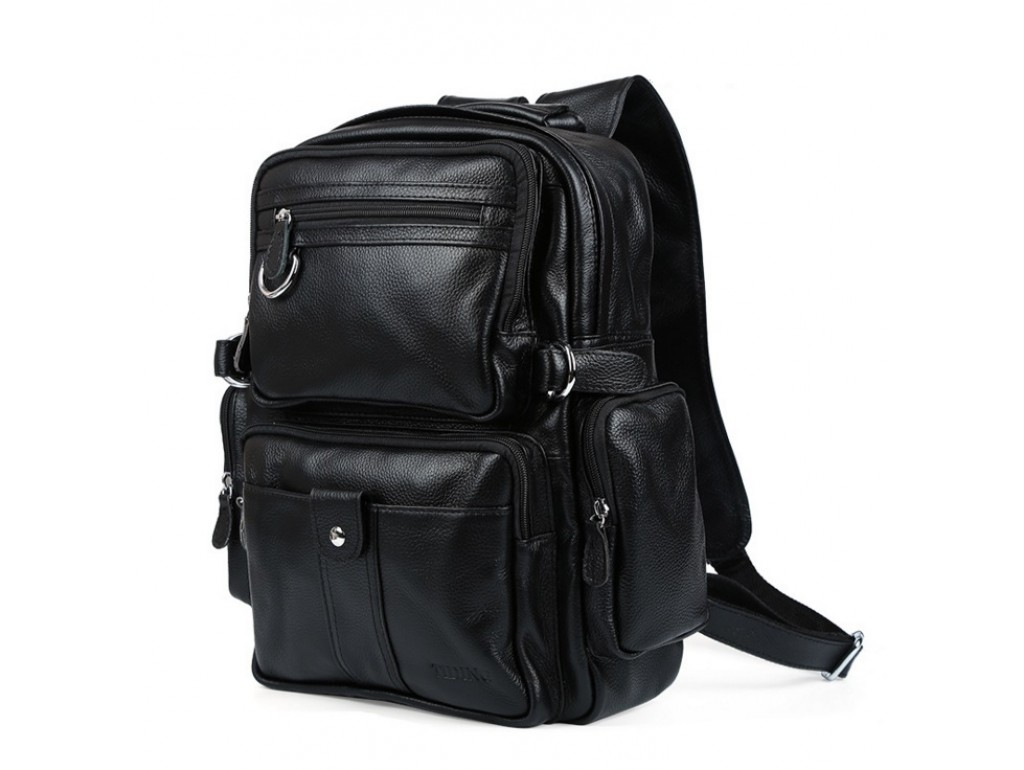 Рюкзак кожаный TIDING BAG T3001 - Royalbag Фото 1