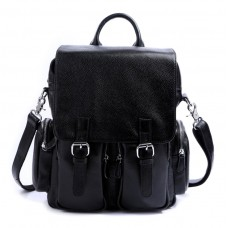 Рюкзак кожаный TIDING BAG T3101