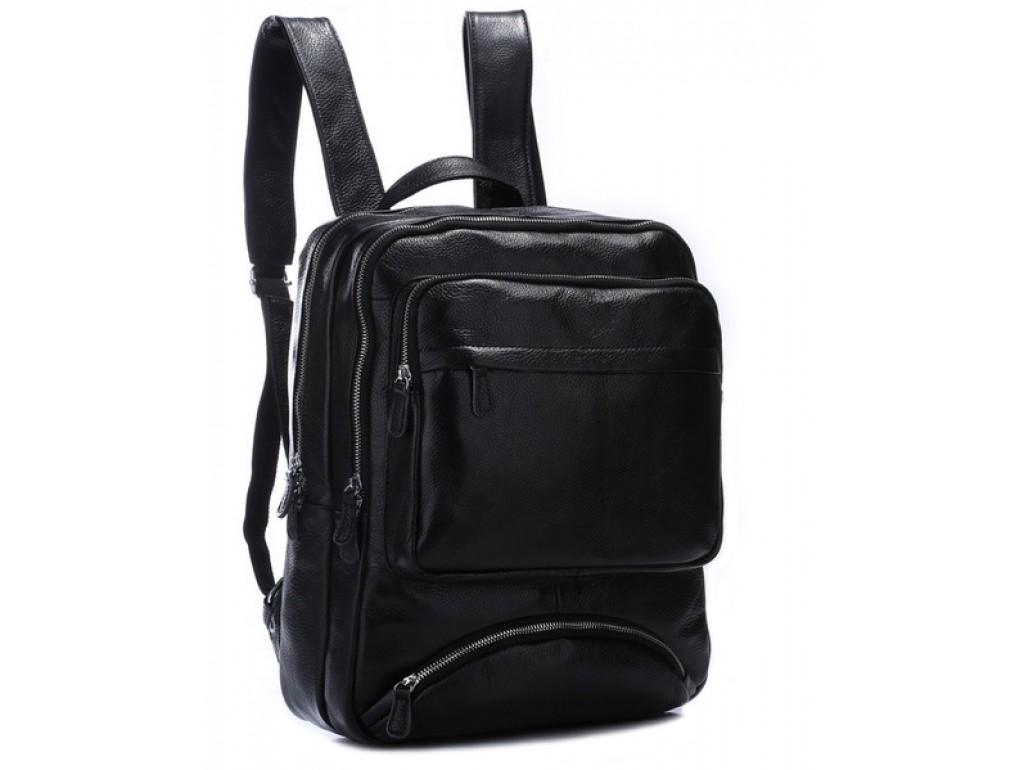 Рюкзак кожаный TIDING BAG T3102 - Royalbag Фото 1