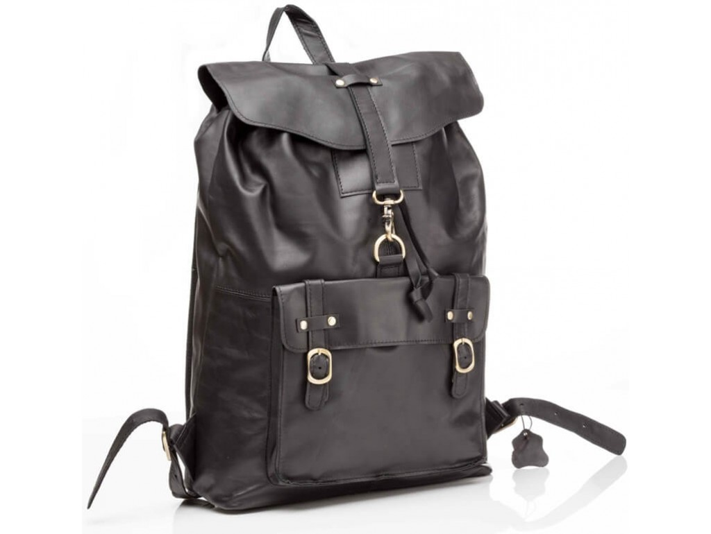 Рюкзак кожаный Tiding Bag G8894A - Royalbag Фото 1