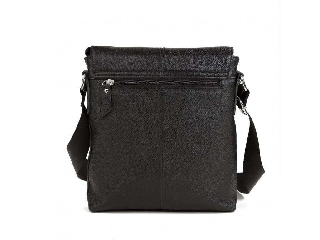 Мессенджер черный через плечо Tiding Bag A25-238A - Royalbag