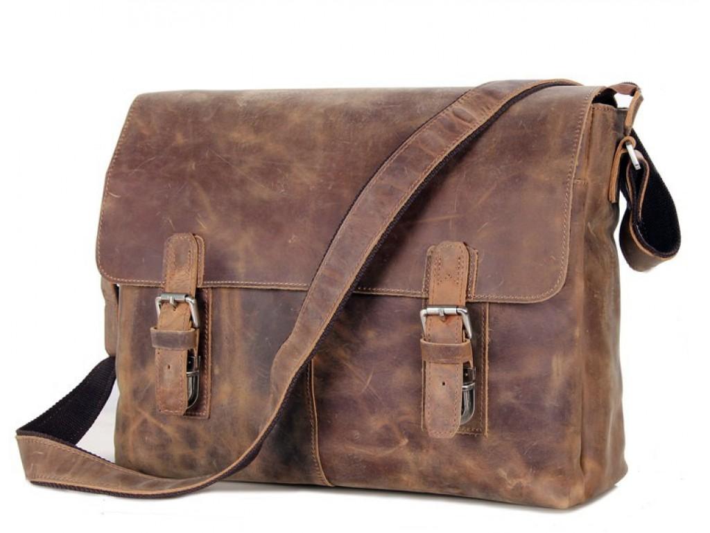 Мессенджер TIDING BAG 6002LR-1 - Royalbag Фото 1
