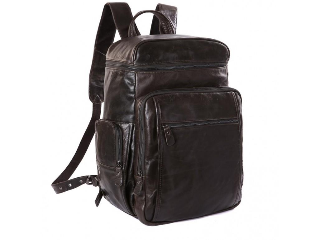 Рюкзак кожаный TIDING BAG 7202J - Royalbag Фото 1
