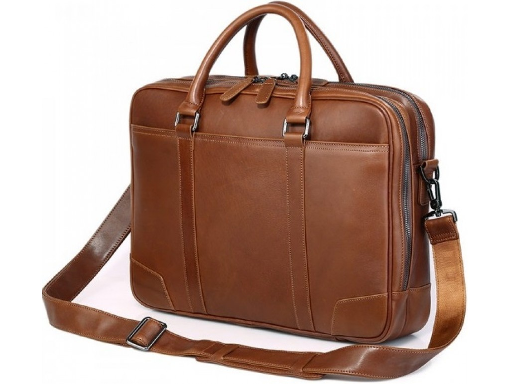 Кожаная сумка Tiding Bag 7348B - Royalbag Фото 1