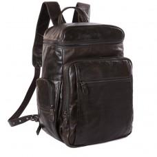 Рюкзак кожаный TIDING BAG 7202J - Royalbag Фото 2