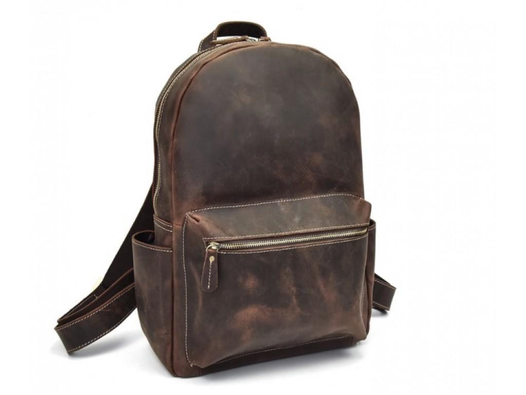 Рюкзак кожаный Tiding Bag B26-3158R - Royalbag Фото 1