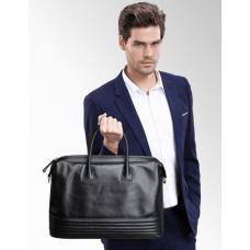 Сумка дорожная черная Tiding Bag B3-2017A - Royalbag