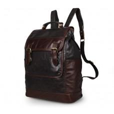 Рюкзак кожаный TIDING BAG 7305J - Royalbag Фото 2
