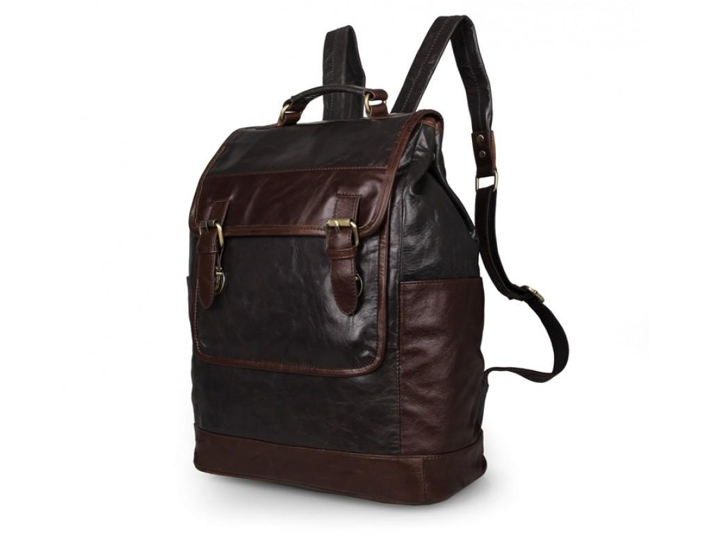Рюкзак кожаный TIDING BAG 7305J - Royalbag Фото 1