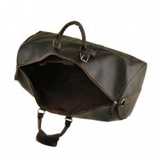 Большая мужская дорожная сумка из натуральной кожи Bexhill G3264B - Royalbag