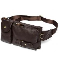 Кожаная сумка на пояс Bexhill Bx9080B - Royalbag