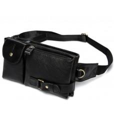 Кожаная сумка на пояс Bexhill Bx9080A - Royalbag