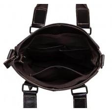 Мужская кожаная сумка вертикальная под А4 Bexhill BX259C