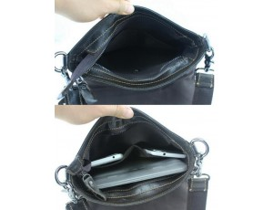 Мужская кожаная сумка через плечо мягкая BEXHILL BX8005A - Royalbag