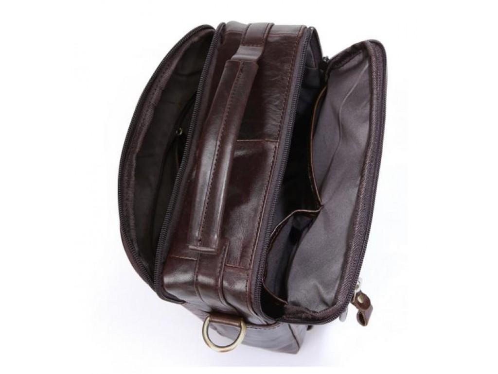 Сумка-барсетка мужская кожаная через плечо BEXHILL Bx8870C - Royalbag