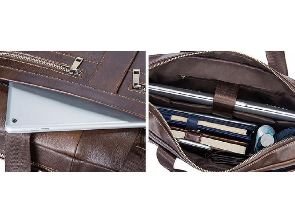 Мужская кожаная сумка для ноутбука и документов Bexhill Bx1120C - Royalbag