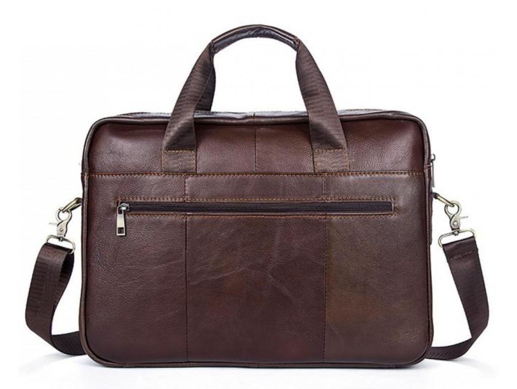 Кожаная сумка для ноутбука съемный наплечный ремень Bexhill Bx1127C