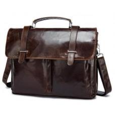 Кожаный портфель Bexhill Bx8814C - Royalbag Фото 2