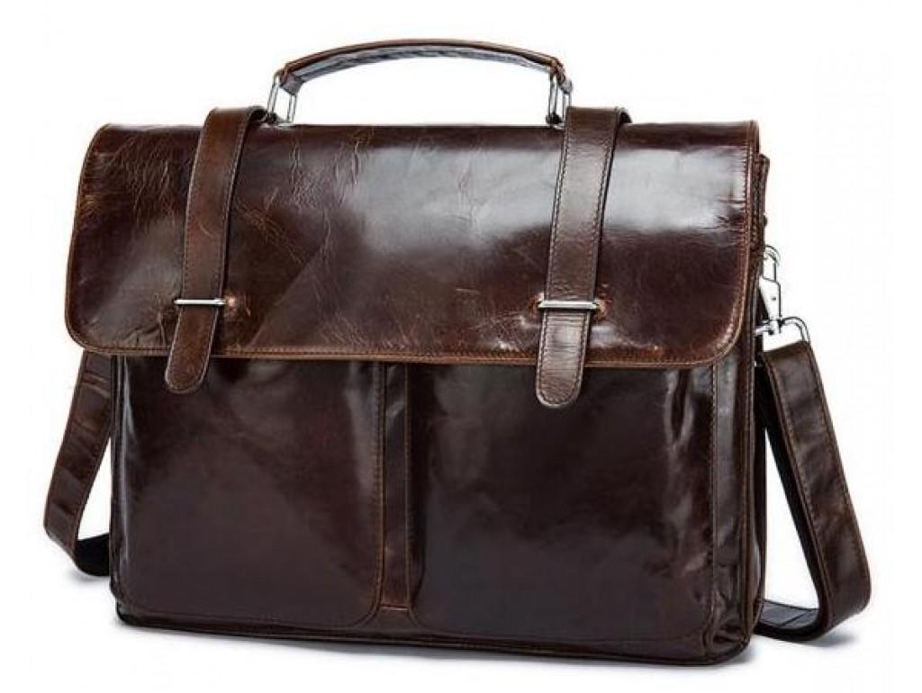 Кожаный портфель Bexhill Bx8814C - Royalbag Фото 1