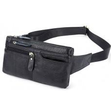 Кожаная сумка на пояс Bexhill Bx8943A - Royalbag