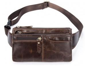 Кожаная сумка на пояс Bexhill Bx8943C - Royalbag