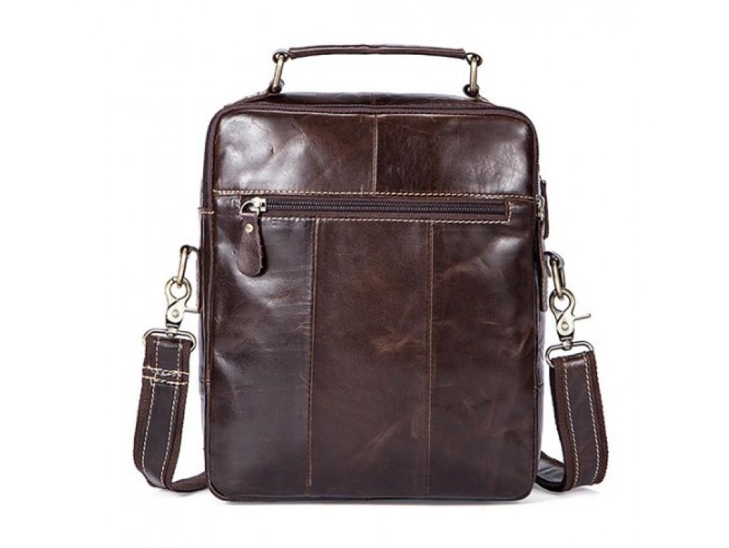 Сумка через плечо мужская из натуральной кожи с ручкой BEXHILL Bx8951C - Royalbag