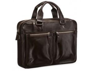 Мужская кожаная сумка для ноутбука и документов Blamont Bn001C - Royalbag