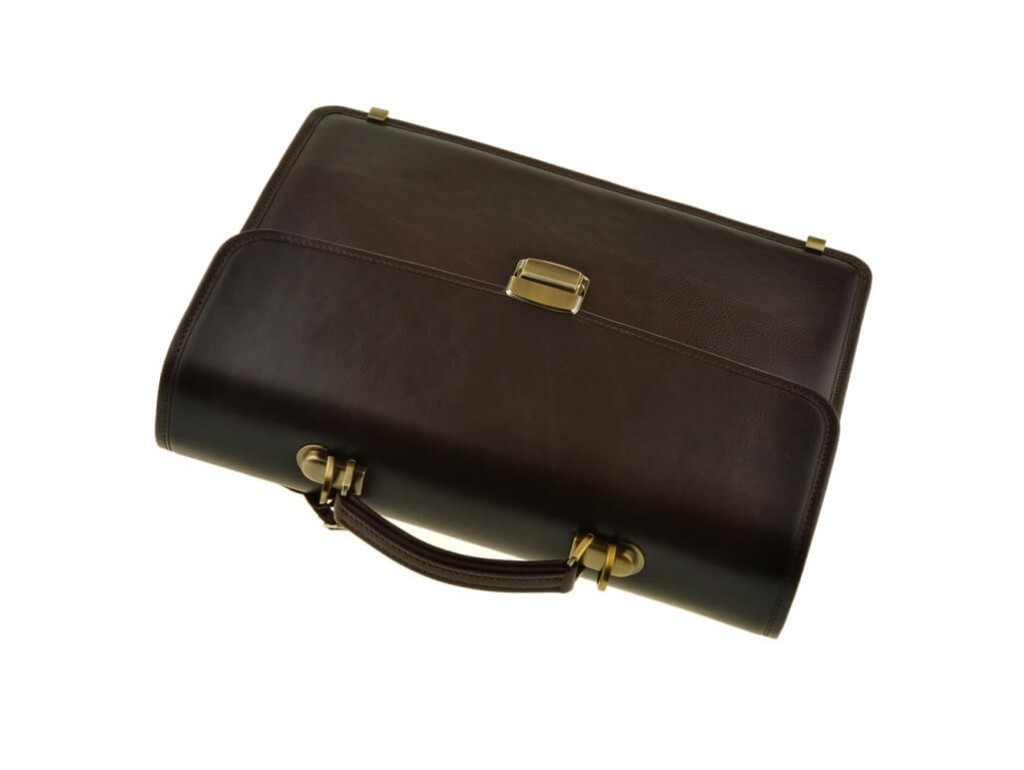 Мужской кожаный портфель Bn040C - Royalbag