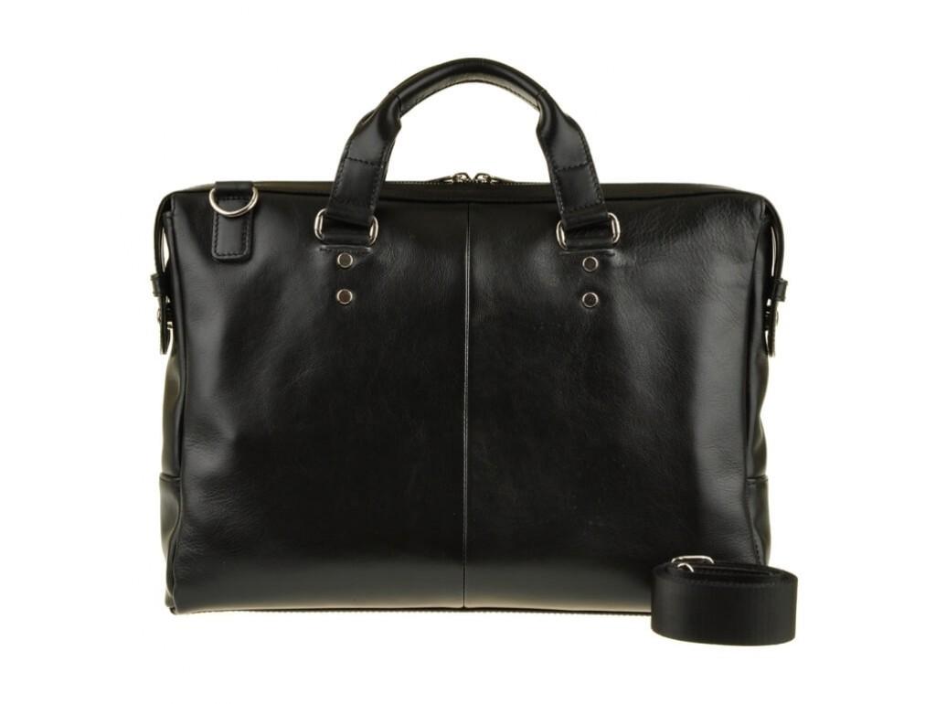 Деловая мужская кожаная сумка для документов и ноутбука 15 дюймов Blamont Bn025A - Royalbag