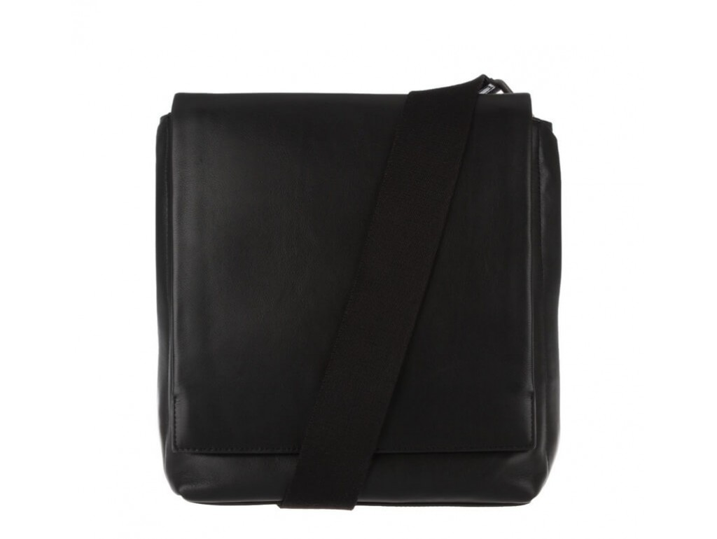 Сумка-мессенджер через плечо мужская кожаная Blamont Bn027A - Royalbag