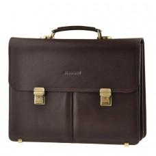 Мужской кожаный портфель Blamont Bn063C